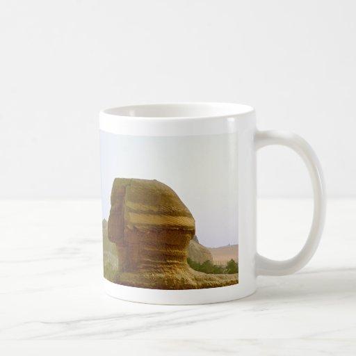 Sphinx Classic White Coffee Mug