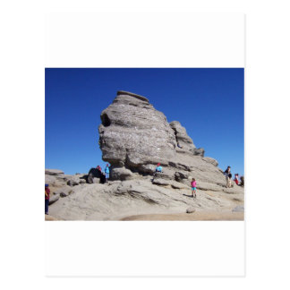 Sphinx from Bucegi Mts, Romania cool megalith Postcard