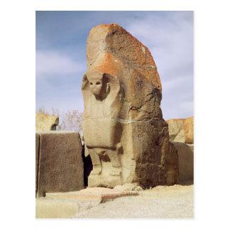 Sphinx gate, 1450-1200 BC Postcard
