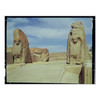 Sphinx gate, 1450-1200 BC Poster
