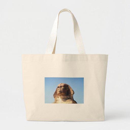 Sphinx Head Canvas Bags