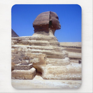 sphinx head mouse pad