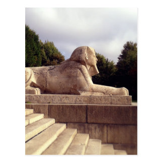Sphinx in Crystal Palace, London Postcard