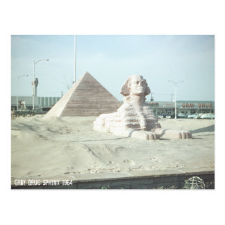 Sphinx in Ohio Postcard