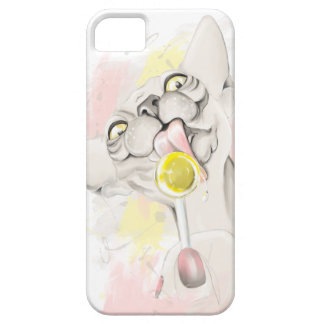 Sphinx licking candy. iPhone SE/5/5s case