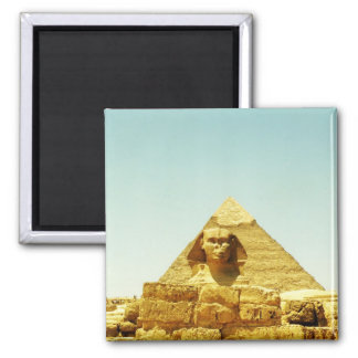 Sphinx 2 Inch Square Magnet