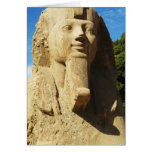 Sphinx - Memphis  EGYPT New Kingdom Card