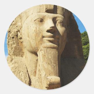 Sphinx - Memphis  EGYPT New Kingdom Classic Round Sticker
