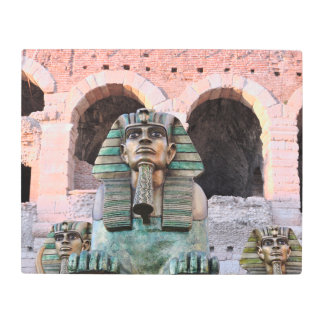 Sphinx Metal Photo Print