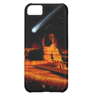 Sphinx & Moon over Egyptian Giza Pyramids Art Gift Cover For iPhone 5C