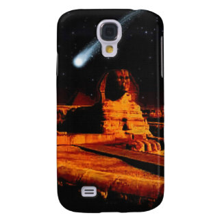 Sphinx & Moon over Egyptian Giza Pyramids Art Gift Galaxy S4 Case