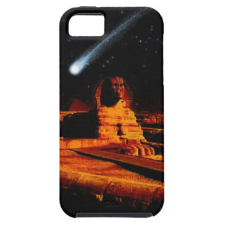 Sphinx & Moon over Egyptian Giza Pyramids Art Gift iPhone SE/5/5s Case