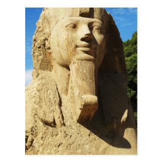 Sphinx of Memphis Egypt Postcard