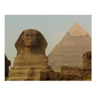 Sphinx Postcard