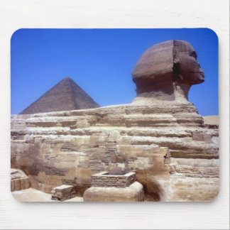 sphinx pyramid mousepads