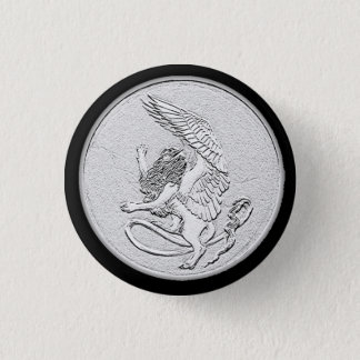 Sphinx Rampant Coin Button