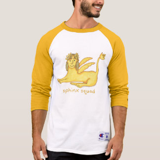 Sphinx Squad Men's 3/4 Sleeve Raglan Shirt