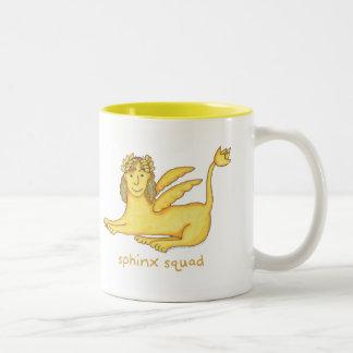 Sphinx Squad Two-Tone Coffee Mug