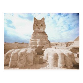 SphinxCat Postcard