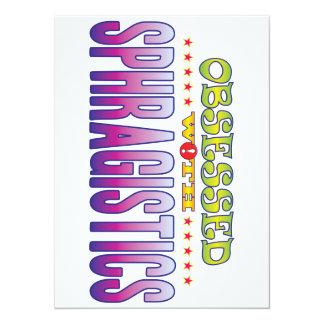 Sphragistics 2 Obsessed 14 Cm X 19 Cm Invitation Card