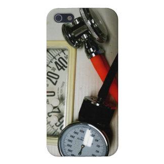 Sphygmomanometer y estetoscopio iPhone 5 funda