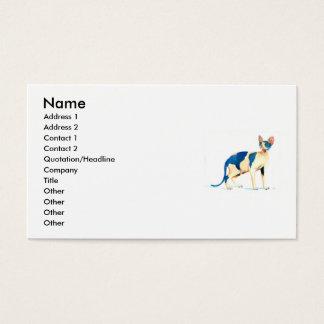 Sphynx Cat 5 Business Card