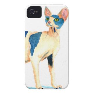 Sphynx Cat 5 iPhone 4 Case-Mate Case