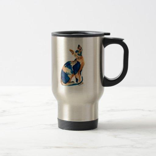 Sphynx Cat 6 15 Oz Stainless Steel Travel Mug