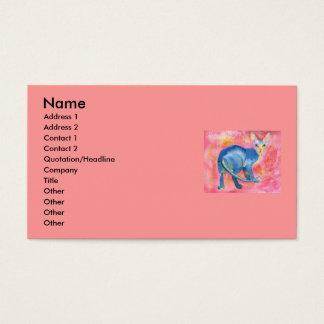 Sphynx Cat 7 Business Card