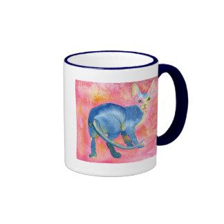 Sphynx Cat 7 Ringer Coffee Mug