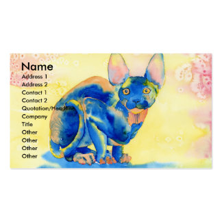 Sphynx Cat Business Cards
