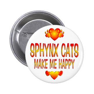 Sphynx Cat 2 Inch Round Button