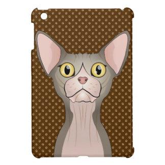 Sphynx Cat Cartoon Paws (Bicolor) Case For The iPad Mini