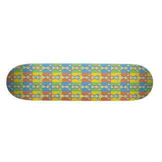Sphynx Cat Cartoon Pop-Art (Bi-Color) Skateboard Decks
