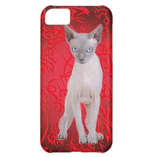 Sphynx cat case for iPhone 5C