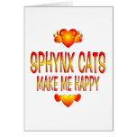 Sphynx Cat Greeting Card