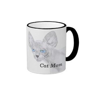 Sphynx Cat Mom Mug