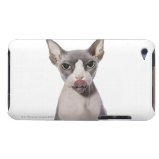Sphynx Cat with tongue out Barely There iPod Case