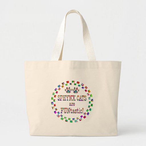 Sphynx Cats are FUNtastic Tote Bags