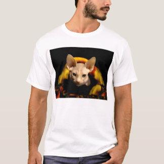 Sphynx hairless cat t-shirt