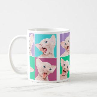 Sphynx kitten coffee mug