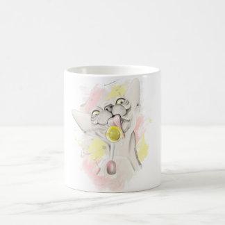 Sphynx lame el caramelo. coffee mug