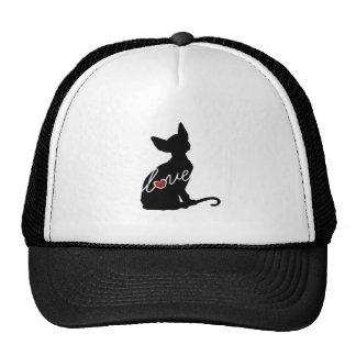 Sphynx Love Trucker Hat
