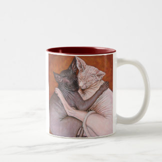Sphynx Sphinx Cat Cats Nap Time Mug