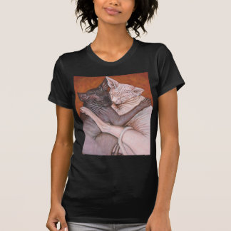 Sphynx Sphinx Cat Cats Nap Time T-Shirt