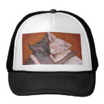 Sphynx Sphinx Cat Cats Nap Time Trucker Hat