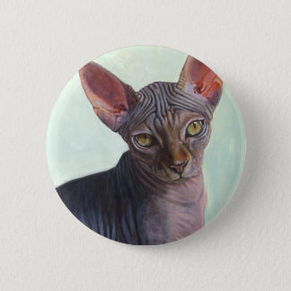 Sphynx Sphinx Cat Cats Sunitha Button
