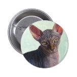 Sphynx Sphinx Cat Cats Sunitha Pinback Buttons