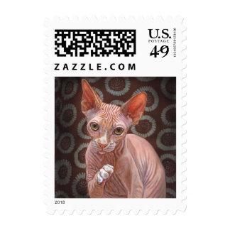 Sphynx Sphinx Cat Jack Postage