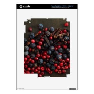 Spice Berries iPad 3 Decals